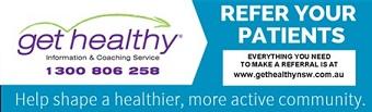 Get Healthy Program banner for GPs