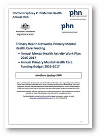 Primary Health Networks Core Funding cover