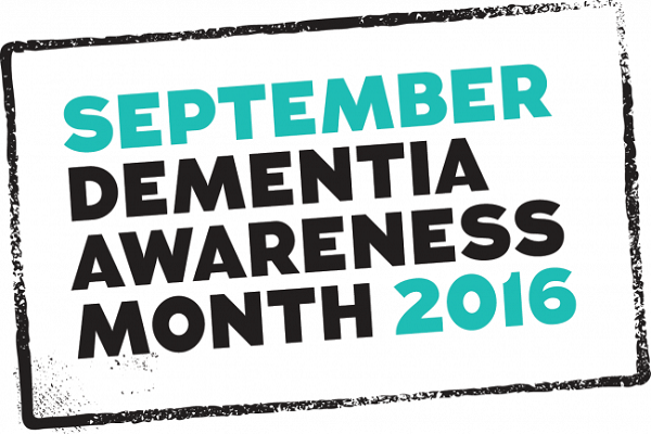 Dementia Awareness Month logo