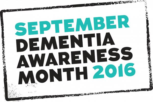 Dementia Awareness Month logo