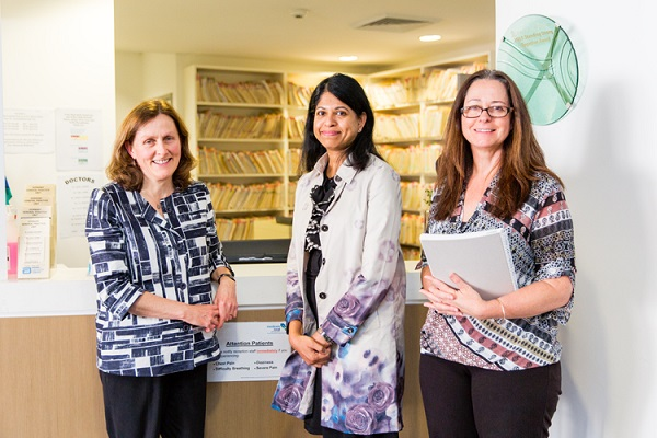 GP Hornsby Unit with research team