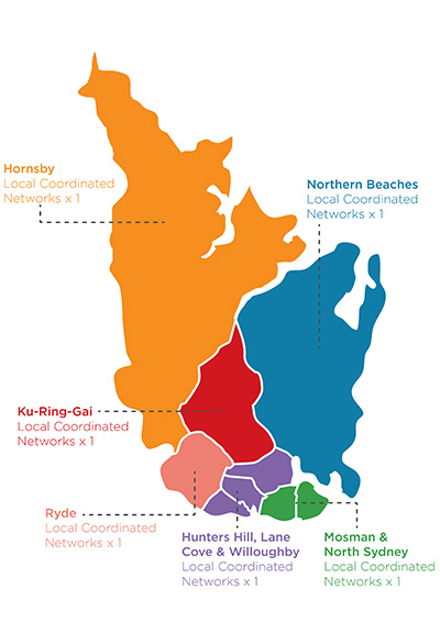Cluster Map LCN