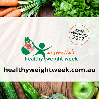 Healthy Weight Week 2017 imagery
