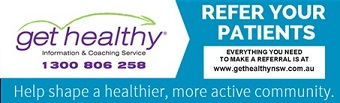 Get Healthy Program banner for GPs