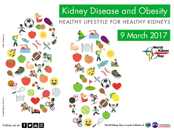 Kidney disease graphic for world kidney day