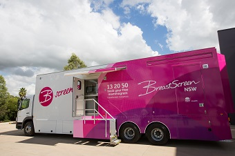 NSW BreastScreen mobile van